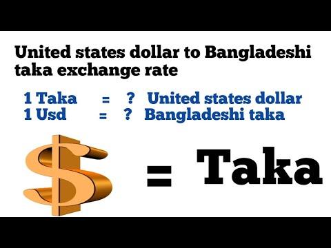 Usd To Taka|1 United States Dollar To Bangladesh Taka Exchange Rate|dollar To Taka