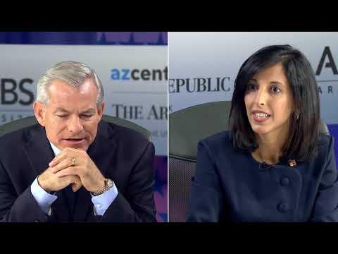 U.S. Rep. David Schweikert debates challenger Anita Malik for Arizona's 6th Congressional District