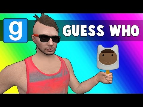 Gmod Guess Who Funny Moments + Monster Legends Vanoss Announcement!