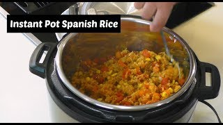 Instant Pot Spanish Rice ~ How to Make Rice in an Instant Pot ~ Amy Learns to Cook