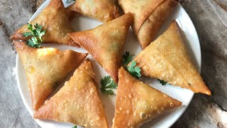 Street style Onion samosa recipe | Hyderabadi Irani samosa recipe | iftar recipes | samosa Patti