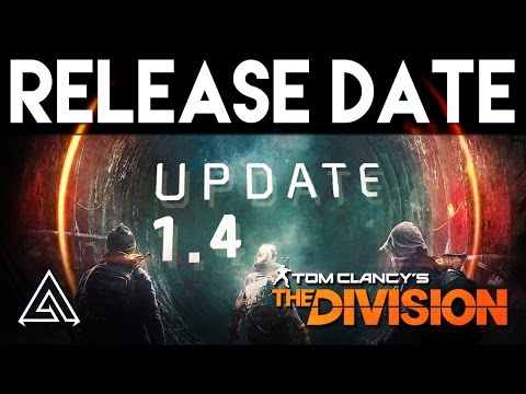 The Division | Patch 1.4 Release Date Announced!