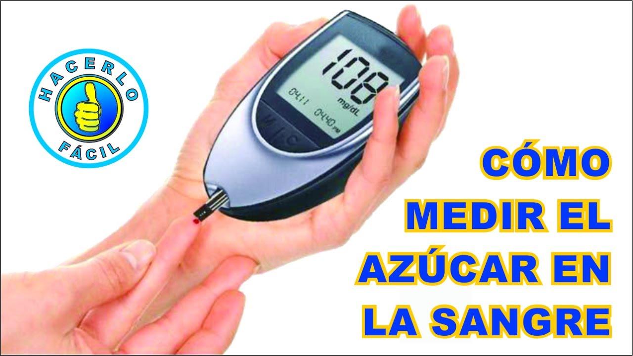 diabetes medir la glucosa en sangre