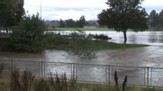 Elgin, Scotland, floods August 2014