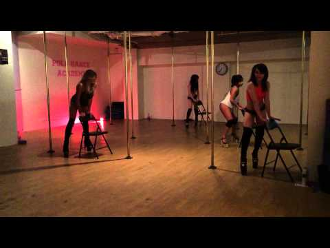 All the time Chair/Pole Choreo