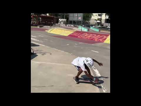 Portugal skateboard road trip in a hire car