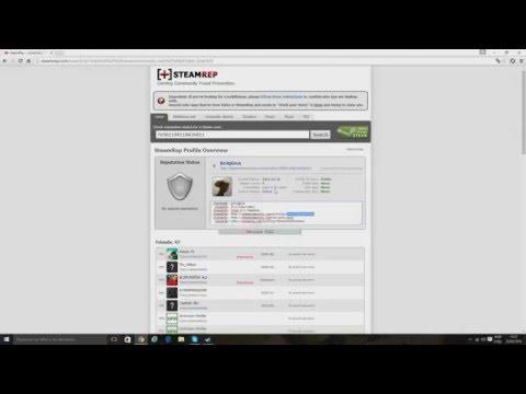 Como colocar o Steam treade ID 64 e ID 32