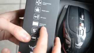[UNBOXING] GX950 Laser Gaming Mouse Asus