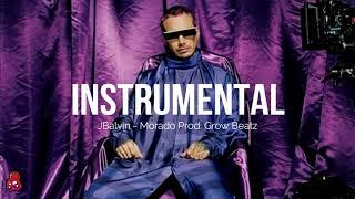 Morado - Jbalvin (Instrumental Oficial) + FLP