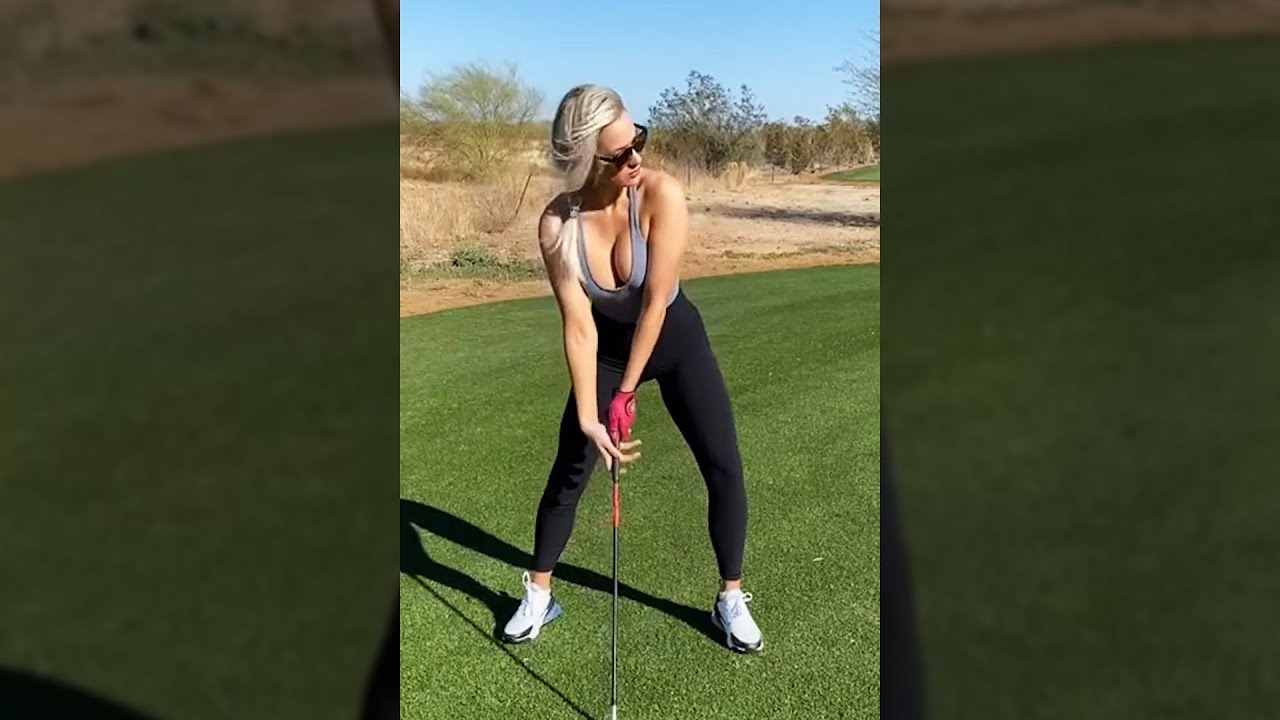 How to Swing a Golf Club // Being Basic with Paige Beginner Golfer Series