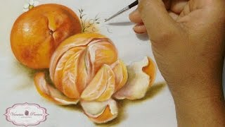 PINTANDO LARANJA / Painting Orange
