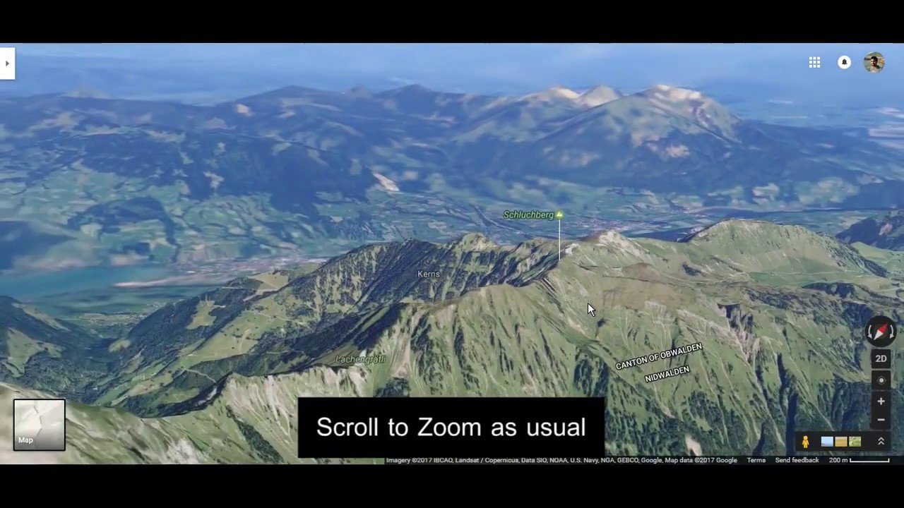 Google Maps 3D 3D models of mountains buildings and more YouTube