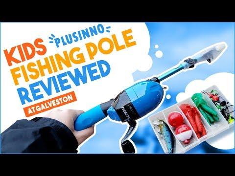 Plusinno Kids Fishing Pole Unboxing / Short Review!
