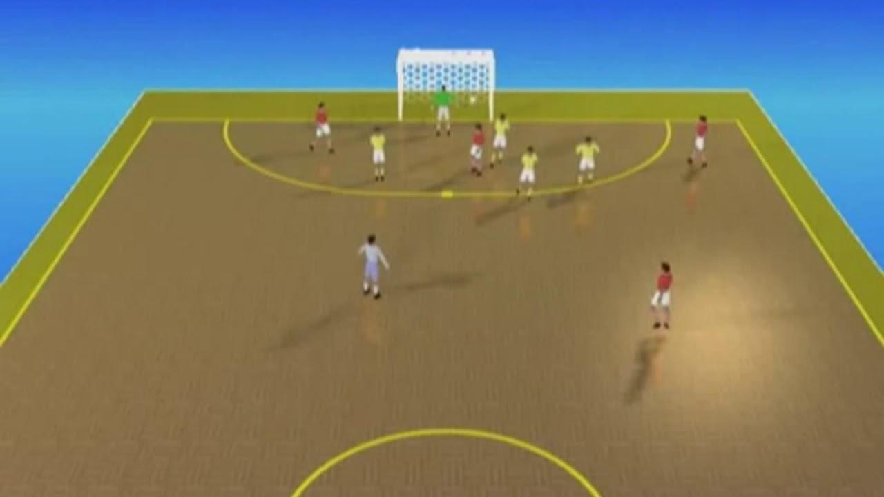 7bedb1f449d1a Futsal - Jogadas Ensaiadas de Faltas - YouTube