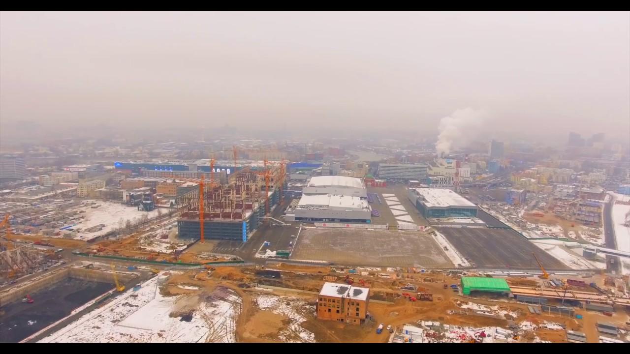 ЖК Парк Легенд ход строительства 29.11.2016