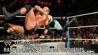 Randy Orton's Extreme Moments - WWE Top 10 thumbnail