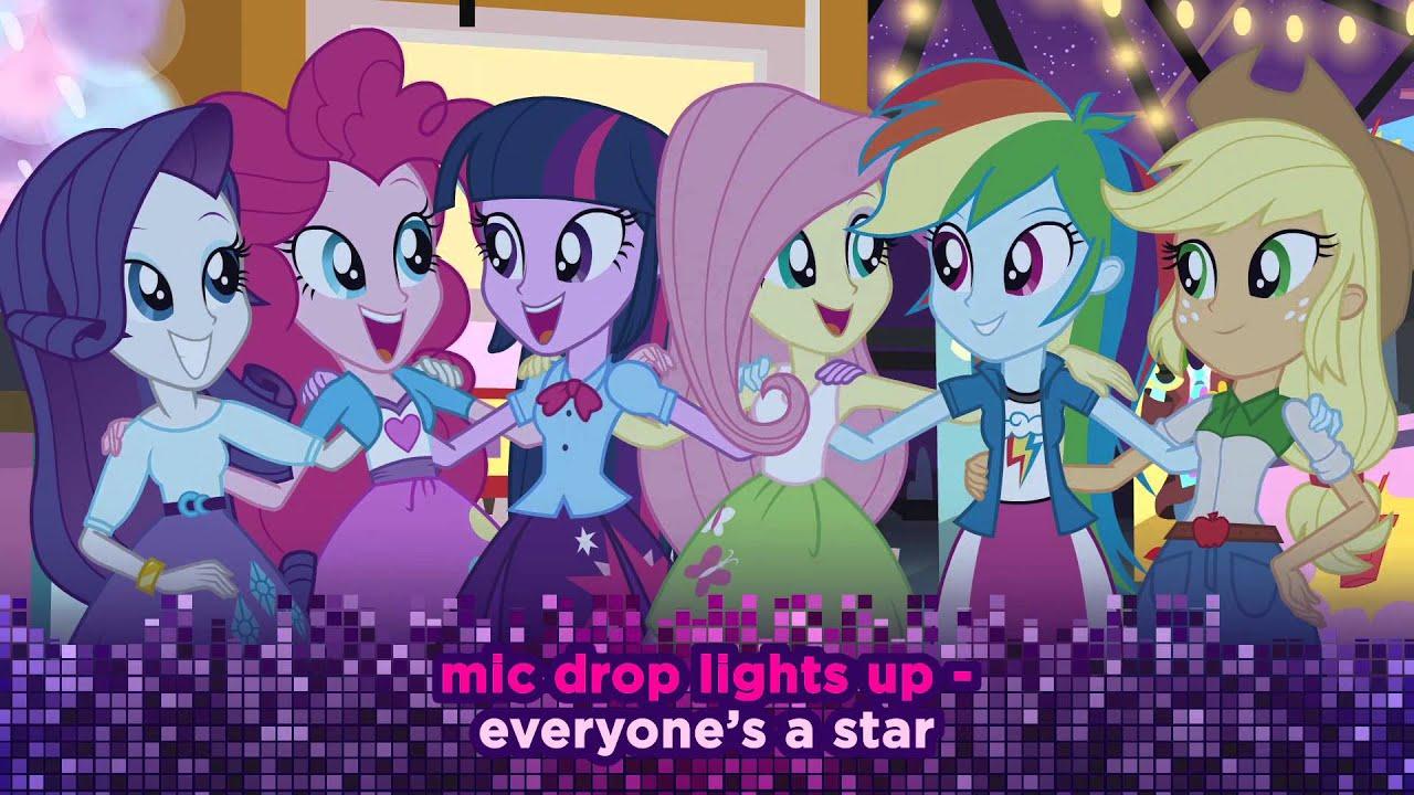 my little pony equestria girls us lyric video