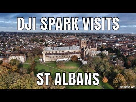 DJI Spark - Visits St Albans