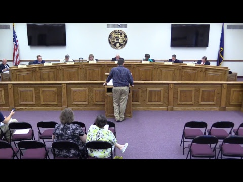 Chester County Council Meeting 6-19-2017 (Part A)
