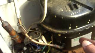 How to remove a fridge compressor from a fridge