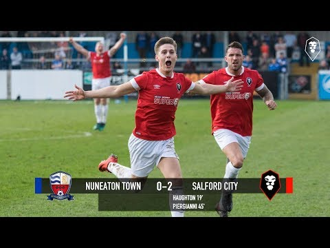 Nuneaton Town 0-2 Salford City - National League North 14/04