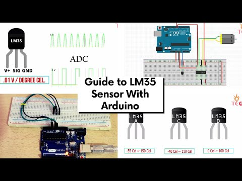 LM35 Temperature Sensor With Arduino Guide And Project