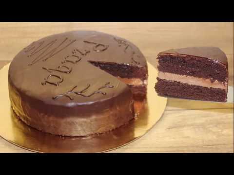 Tort Praqa. Asan Hazırlanan Şokoladlı Tort Resepti