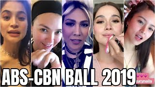 Latest!! ABS-CBN Ball 2019 FAMOUS CELEBRITIES Preparation!