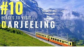 Amazing Places to in Darjeeling | Tourist Places in Darjeeling | Tourism | #008