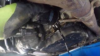 Ölwechsel /oil change Peugeot 407SW 3.0L V6