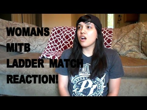 WOMANS FIRST MITB LADDER MATCH REACTION!!!