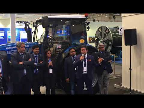 Farmtrac Tractors Europe at Agritechnica 2017, Hannover, Germany