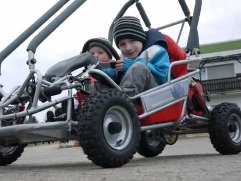 kinderbuggy buggy f r kinder von 4 8 youtube. Black Bedroom Furniture Sets. Home Design Ideas
