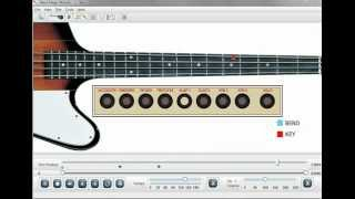 Santana Black Magic Woman Bass Lesson Software