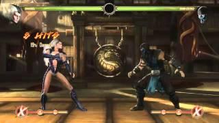 Mortal Kombat 9 - Sindel обучение + комбо