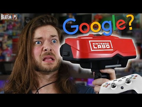 Nintendo Switch VR or Google's Console, which is a WORSE idea?