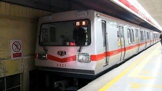 2015/11/14 北京地下鉄 1号線 SFM04型 & DKZ4型 天安門西駅