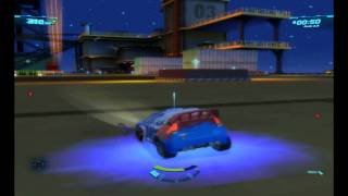 Cars 2 - Gameplay PC - Oil Rig Showdown - [HD]