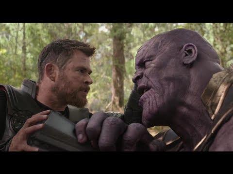 Thor vs Thanos Wakanda Battle Scene (HD) | Avengers Infinity War Clip (Digital)