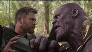Thor vs Thanos Wakanda Battle Scene (HD) | Avengers Infinity War Clip (Digital)