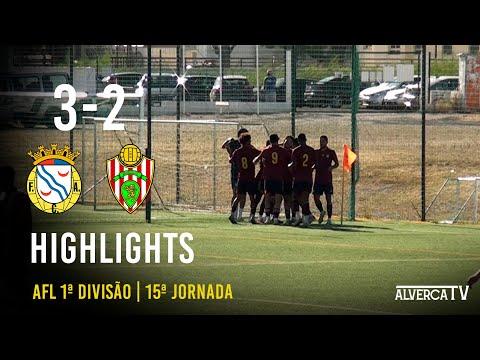 FC Alverca 3-2 Linda-a-Velha   Highlights