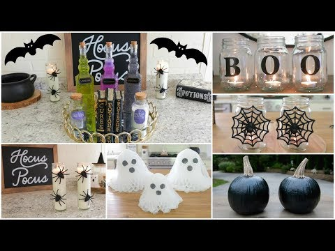 DIY HALLOWEEN DECOR | Inexpensive And Easy DIY Halloween Decor Ideas