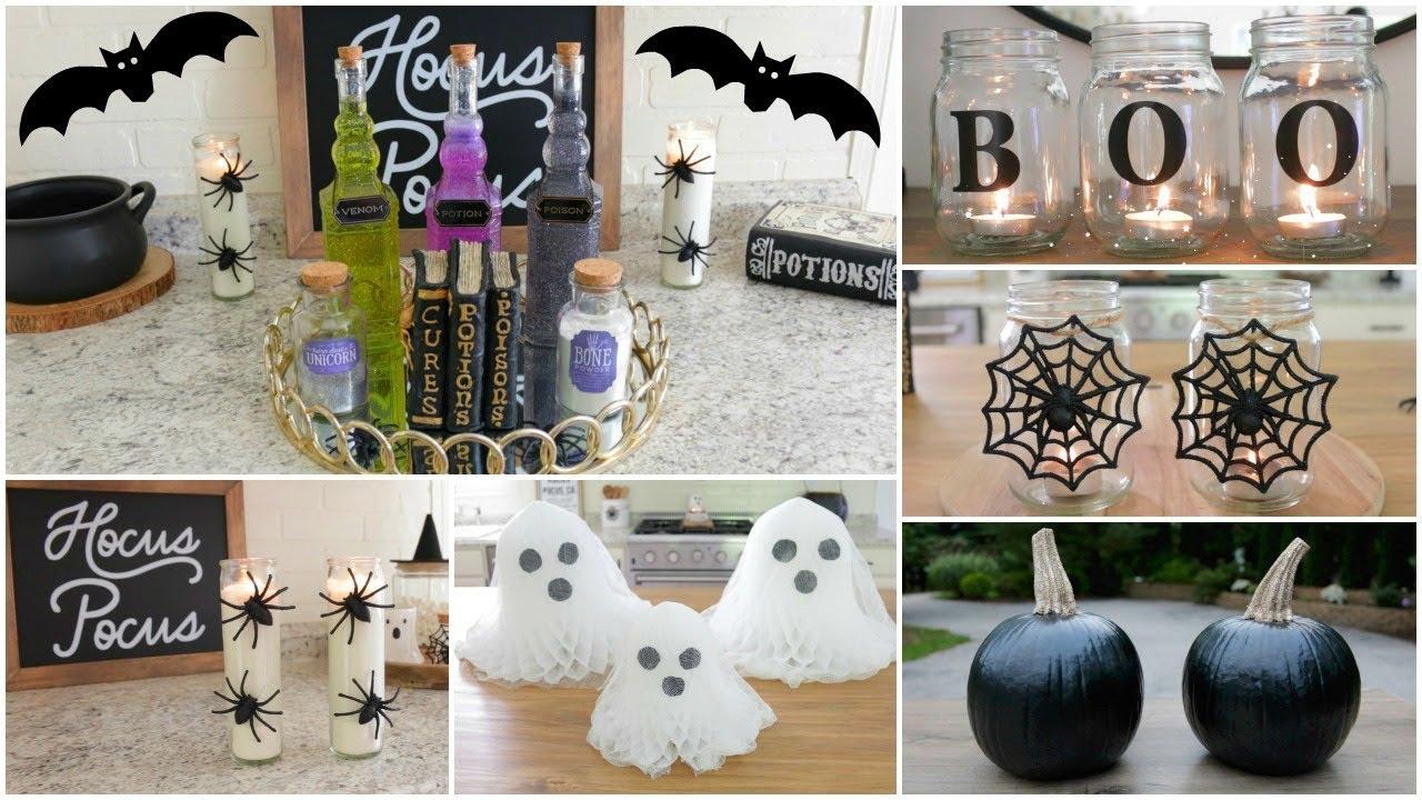 Diy Halloween Decor Inexpensive And Easy Diy Halloween Decor