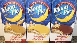 Moon Pie: Salted Caramel, Banana & Chocolate Review