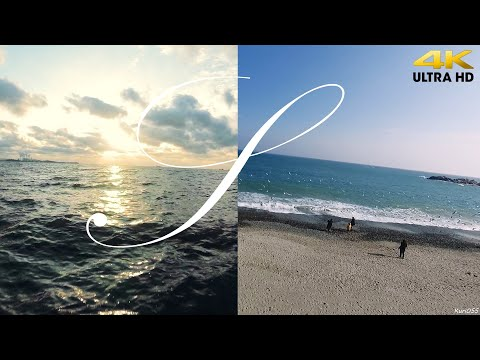 [FPV Travels #001] 동해/서해 바다 여행 (드론영상 4K) || Travel To East And West Sea (FPV Drone) In South Korea