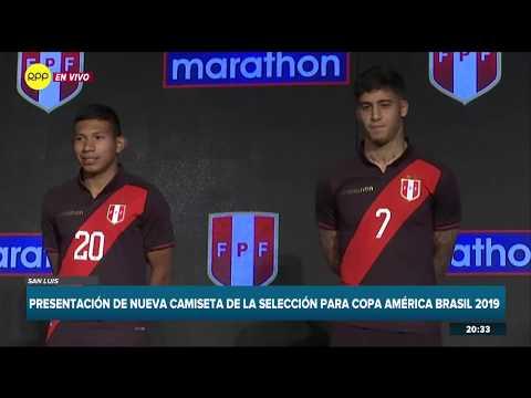 Así es la nueva camiseta alterna de la Selección Peruana