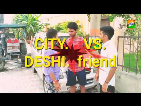 City Boy vs deshi ( friend )  - Amit Bhadana fan's must be watched - PAWAN SHUKLA