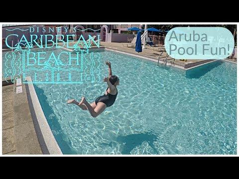 Disney's Caribbean Beach - Aruba Pool Fun