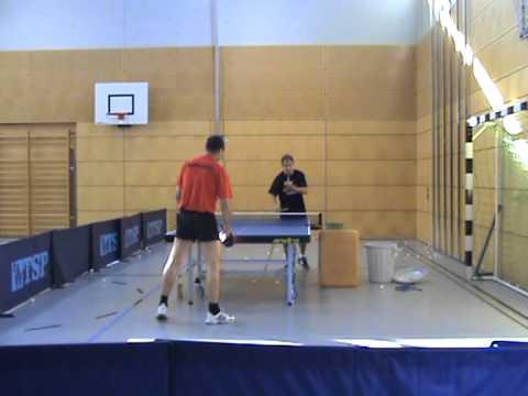 Tischtennis Training mit