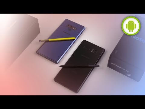 CONFRONTO SAMSUNG Galaxy NOTE 9 vs NOTE 8